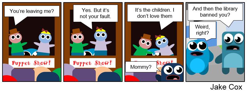 Divorce + Puppets = Fun!